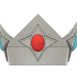 Rosalina Crown 1.PNG Télécharger fichier STL Couronne de la princesse étoile Rosalina • Objet pour imprimante 3D, httpkoopa