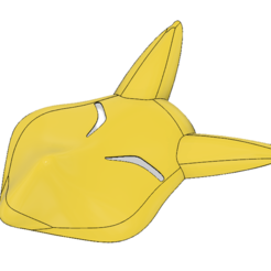 3D printing model Keaton Fox Mask, httpkoopa