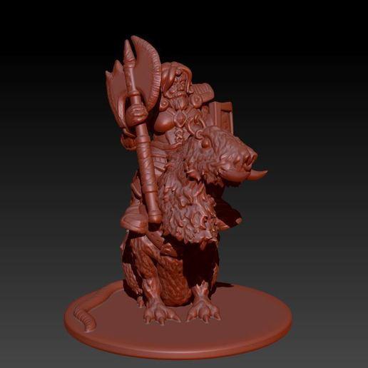 Descargar archivo STL Rata Oso Cerdo Caballería • Objeto para impresora 3D, Windwreath