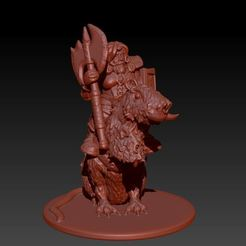 Download STL Rat Bear Pig Cavalry, Windwreath