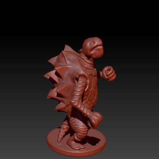 Descargar archivo STL Tortle Monk • Objeto para imprimir en 3D, Windwreath
