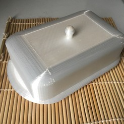 IMG_3214.jpeg Download free STL file butter dish (butter box) butter dish • Model to 3D print, OlivierBanse