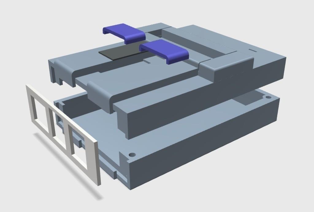 c3b104701a65f2cf209d728c39e82eb0_display_large.jpg Download free STL file Super Nintendo Raspberry Pi Case • 3D print design, arron_mollet22
