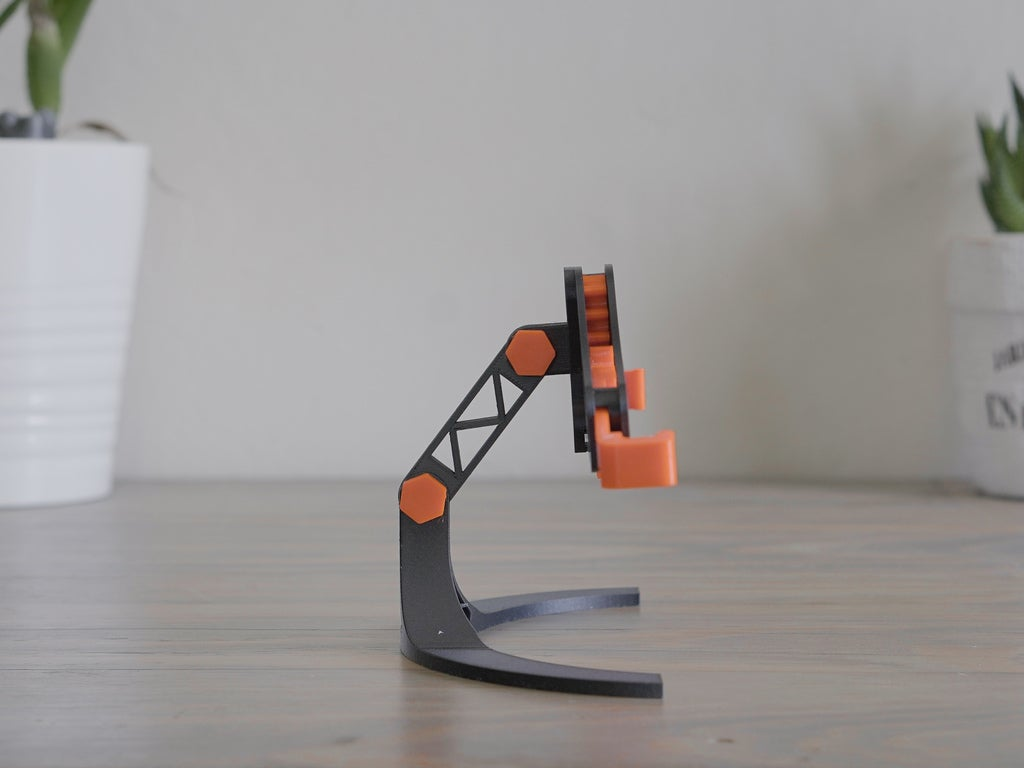 cc4a85df78e2a89c4d1c5b57dd9ad093_display_large.jpg Download free STL file Mechanical Quick Grab/Release Phone Stand • 3D printable object, arron_mollet22