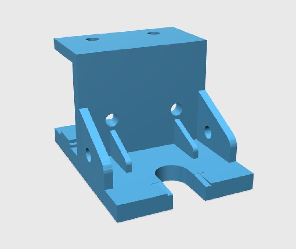 7170fb3591c3ba575b8393e9a47689a3_display_large.jpg Download free STL file E3D V6/Bowden Extruder Bracket for RepRap • 3D printer design, arron_mollet22