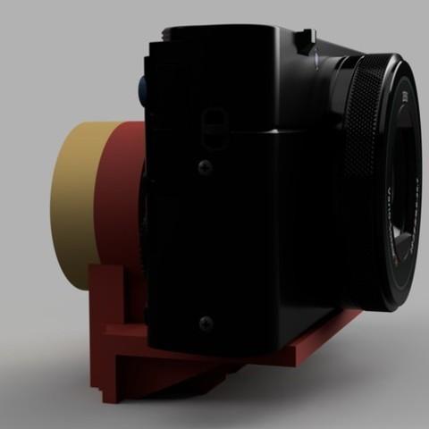 3e11e06a035d21b28c15fefd7b0a66bd_display_large.jpg Télécharger fichier STL gratuit Cardan Q lisse - Fixation pour caméra (Sony RX100 et autres) • Modèle pour imprimante 3D, arron_mollet22