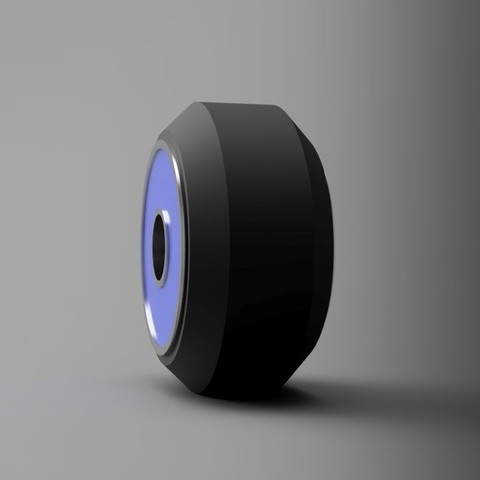 89bb29a5fdc67575b96c0b762222de36_display_large.jpg Download free STL file Open Builds V-Slot Wheel (16mm OD Bearing) • 3D print model, arron_mollet22