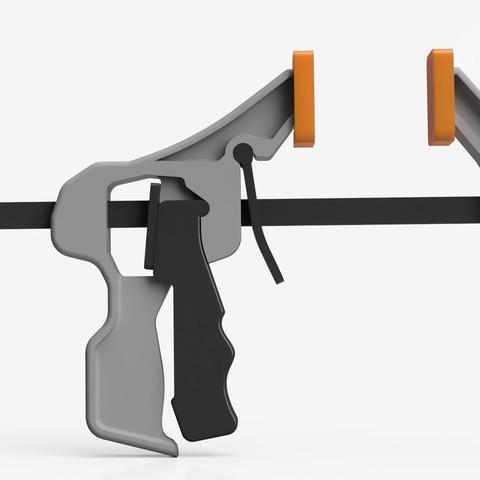 Quick_Clamp_2019-Apr-20_09-59-45PM-000_CustomizedView16299131670_jpg.jpg Télécharger fichier STL gratuit Pince de détente à prise rapide imprimable (fonctionnelle) • Design imprimable en 3D, arron_mollet22