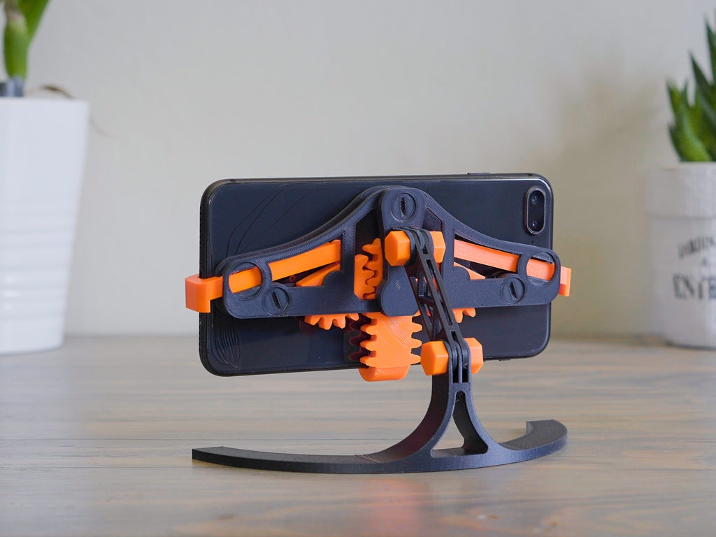 c822025c9886c083843e583df89e0770_display_large.jpg Download free STL file Mechanical Quick Grab/Release Phone Stand • 3D printable object, arron_mollet22