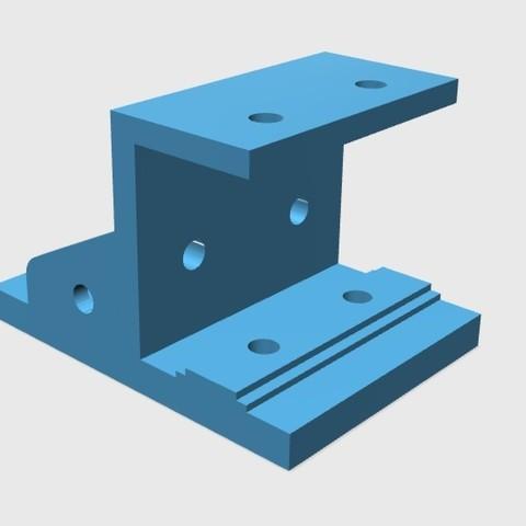 84fca64bef97da8edaaa781c215fa028_display_large.jpg Download free STL file E3D V6/Bowden Extruder Bracket for RepRap • 3D printer design, arron_mollet22