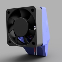 Download free STL file MonoPrice Mini Fan Duct Upgrade (40mm), arron_mollet22