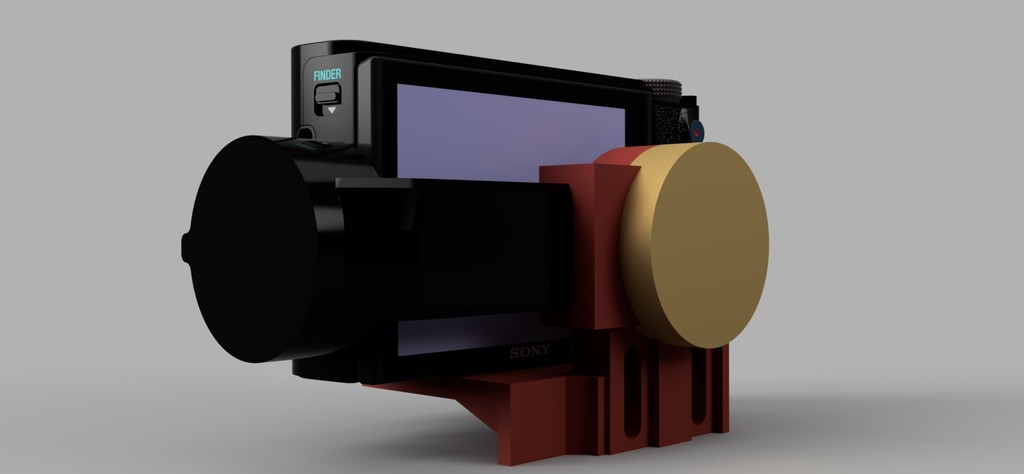 4967ceef1f19aa7da7f42d54588ca984_display_large.jpg Download free STL file Smooth Q Gimbal - Camera Attachment (Sony RX100 & Others) • 3D printing model, arron_mollet22