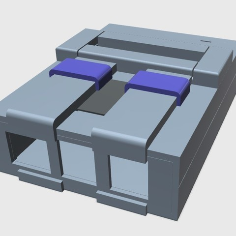 Download free 3D printer designs Super Nintendo Raspberry Pi Case, arron_mollet22