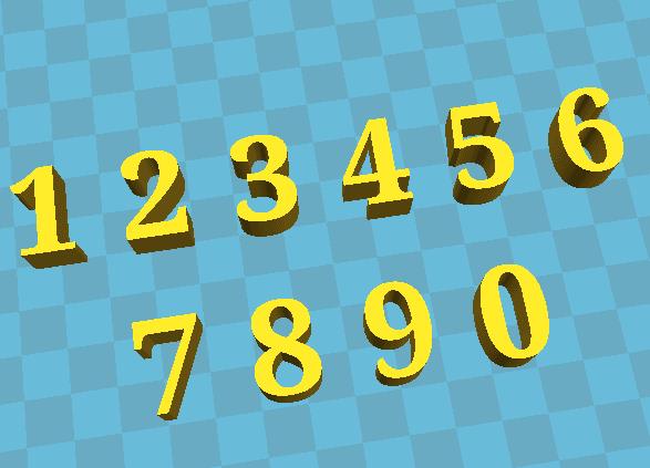 NUMBERS.png Télécharger fichier STL gratuit NUMÉROS • Modèle pour impression 3D, jhonatanmujicag