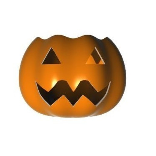 Download 3D printing templates Halloween League of Legends Inspired Pumpkin + Bowl #1, Laramaine