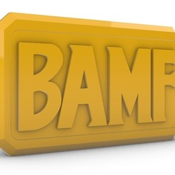 Download free STL McCree BAMF Buckle, LaraCraft