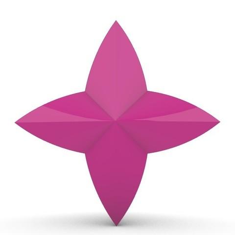 Descargar modelo 3D Star Guardian 4 puntas Star Crystal, LaraCraft