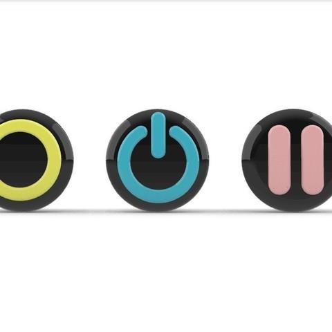 SeeUButtons2.jpg Download STL file SeeU Buttons • 3D printable template, Laramaine