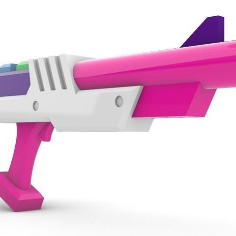 Descargar STL Pistola Arcade Miss Fortune, Laramaine
