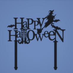 4547b2a79ae6fe5b19d623cb9e346088.png Download STL file TOPPER HALLOWEEN • 3D printing object, FARRUQUITO
