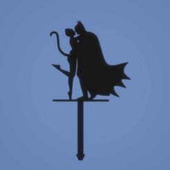 c91b1c8e41a717485dfafe082fa05120.png Download STL file TOPPER Batman and Catwoman • 3D printable object, FARRUQUITO
