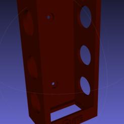 Free STL file Power Brick Holder for IceCap 1000K Gyre, RickNC