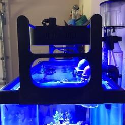 IMG_0643.jpg Télécharger fichier STL Support de lumière pour lumières d'aquarium Black Box • Design à imprimer en 3D, RickNC