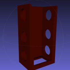 Free STL file Power Brick Holder Bubble Magus A5, RickNC