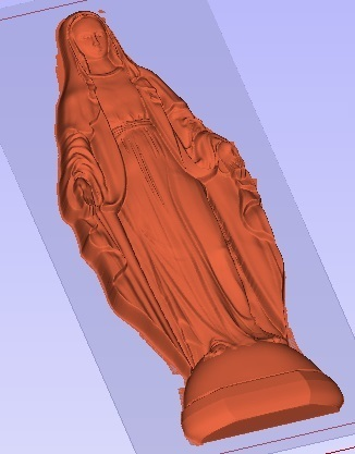 VIRGEN MILAGROSA1.jpg Download free STL file HOLY MARY • 3D printer model, alondono862