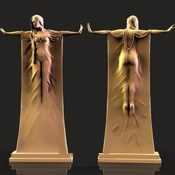 Mujer Brazos extendidos.jpg Download free STL file Woman arms outstretched • 3D printable model, alondono862