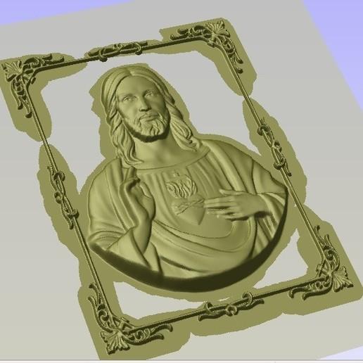 JESUS2.jpg Download free STL file JESUS 2 • 3D printer object, alondono862