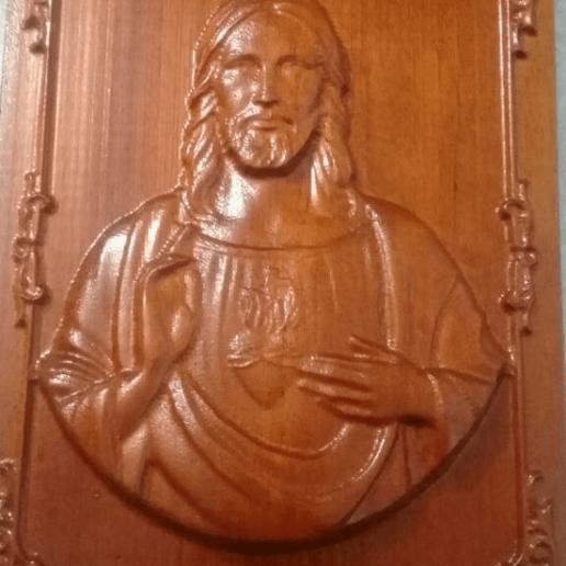 JESUS 2.png Download free STL file JESUS 2 • 3D printer object, alondono862
