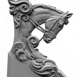 Descargar STL gratis HORSE, alondono862