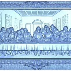 """Download free 3D printer model the last supper """"La ultima Sena"""", alondono862"""