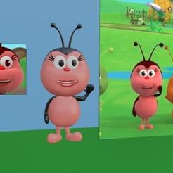 IMG-20200716-WA0001.jpg Download STL file Bichikids - Ladybug - Kiki • 3D printable design, estebanmeurat