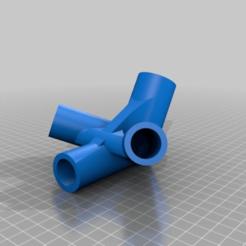 Download free 3D printer designs Gazebo Connection 3 to 1, estebanmeurat