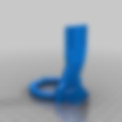 Agarre_del_motor.stl Télécharger fichier STL gratuit Mise à jour pour MK8 avec clone e3D - Version 2 • Plan pour impression 3D, estebanmeurat