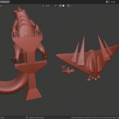 Dragapult.png Download STL file Dragapult Pokemon • 3D printable template, estebanmeurat