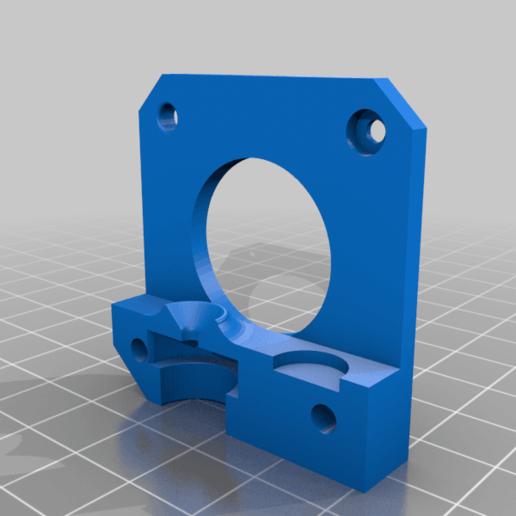 Fondo_con_hobbed_original.png Télécharger fichier STL gratuit Mise à jour pour MK8 avec clone e3D - Version 2 • Plan pour impression 3D, estebanmeurat