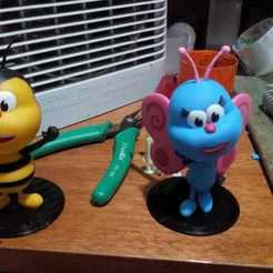 Download STL file Bichikids - Bee / Bee - Butterfly • 3D printing template, estebanmeurat