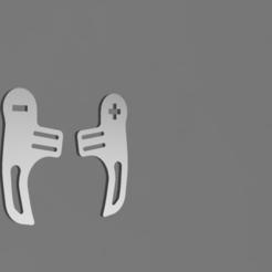 model B.png Download STL file PADDLE MODEL B • 3D print design, Simracing_design