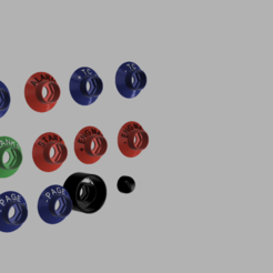 button cover render 1.png Télécharger fichier STL BOUTON COUVERTURE AMG STYLE SET2 20mm • Plan à imprimer en 3D, Simracing_design