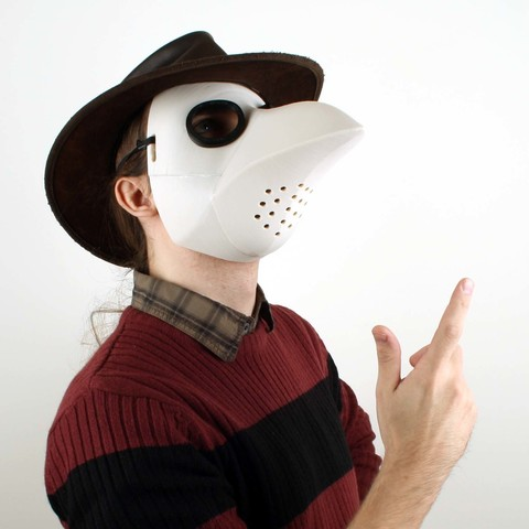 plague doctor mask - peste fortnite 3d