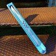 Download free 3D printer model Alita - Original Damascus Blade, Odrivous