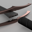 Download 3D printer files Medieval bastard sword | 135 cm | carbon reinforcement ready | cosplay / LARP, Odrivous