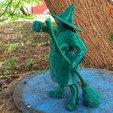 Download 3D printer designs Nanny Ogg - Discworld , Odrivous
