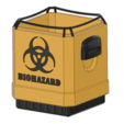 Free 3D printer designs What-a-Load disposal bin, Odrivous