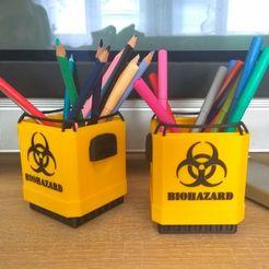"""Descargar archivos 3D gratis Contenedor de eliminación de residuos """"What-a-Load, Odrivous"""
