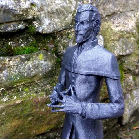 Download 3D printer templates Havelock Vetinari - Discworld, Odrivous