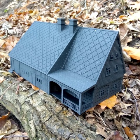 Free 3D printer model North Bohemian house, Odrivous